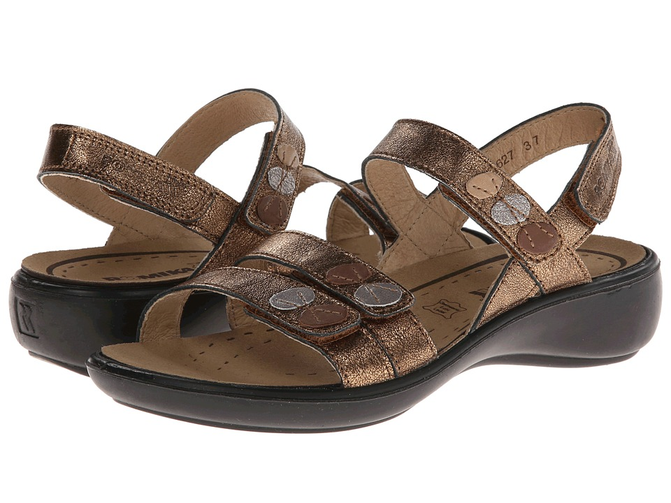 Romika - Ibiza 55 (Bronze) Women's Sandals