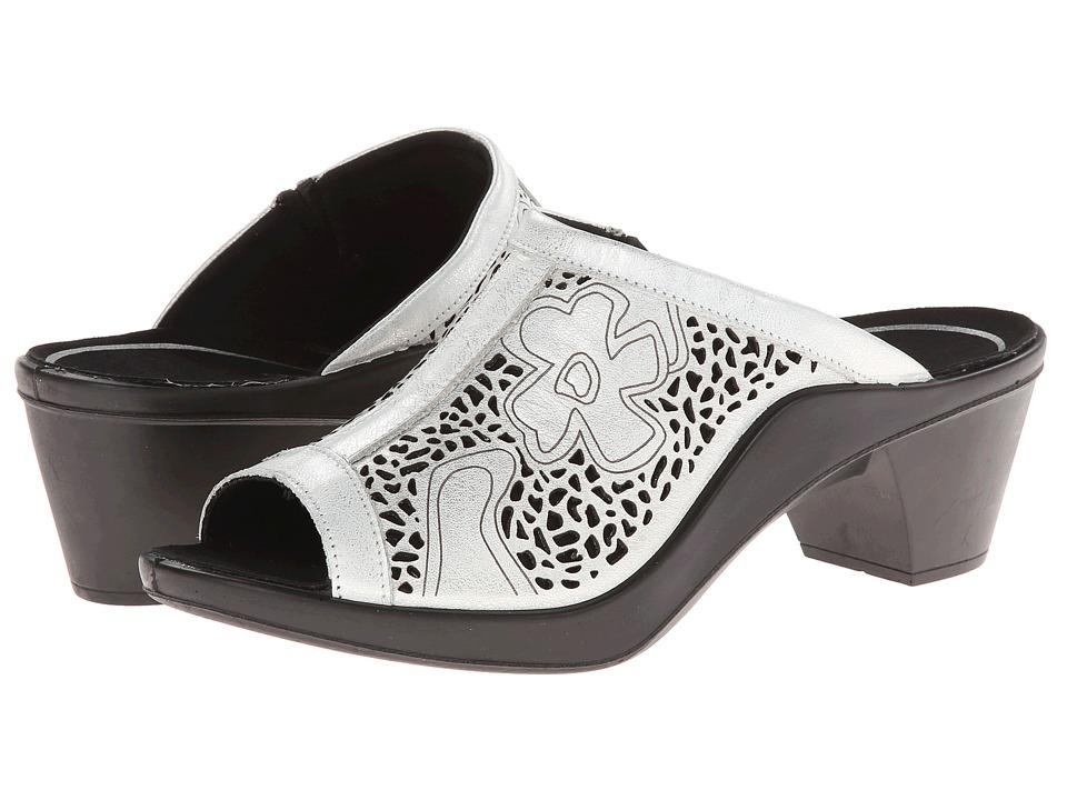 Romika - Mokassetta 275 (Silver) Women's 1-2 inch heel Shoes