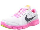 Nike Kids Flex Experience LTR (Big Kid) (White/Pink Glow/Atomic Mango/Midnight Navy)