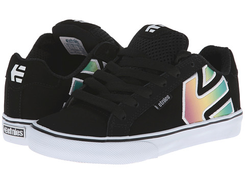 etnies Kids - Fader Vulc (Toddler/Little Kid/Big Kid) (Black/Print) Boys Shoes