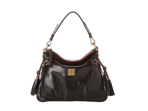 Dooney & Bourke - Toledo Leather Hobo (Black With T