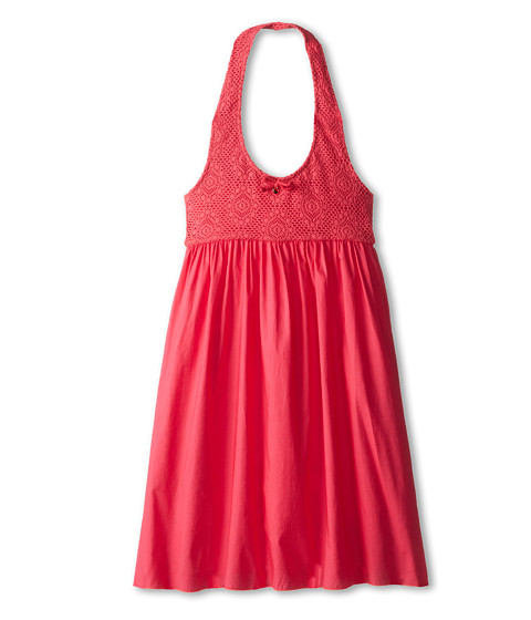Dolce & Gabbana - Lace Dress (Big Kids) (Strawberry) Women