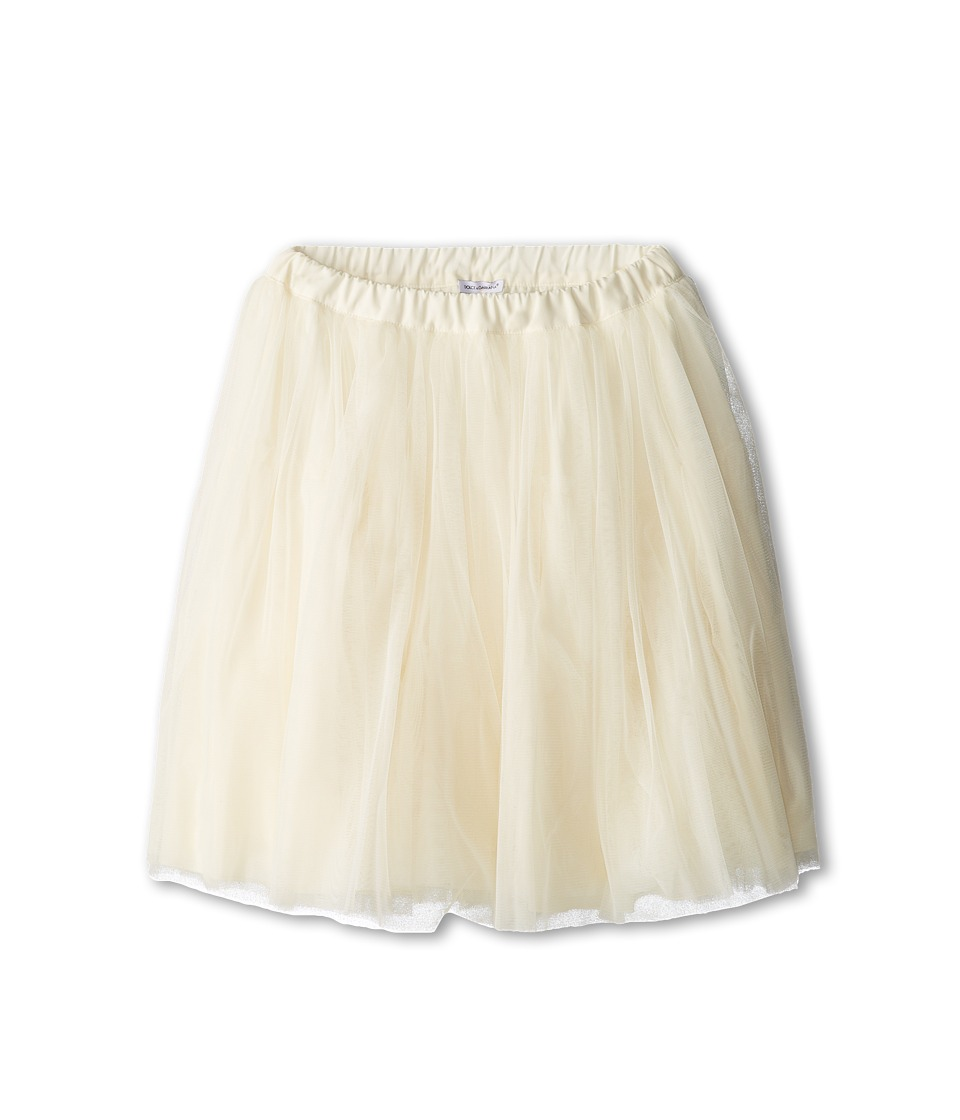 Dolce & Gabbana - Tulle Skirt (Big Kids) (White) Women's Skirt