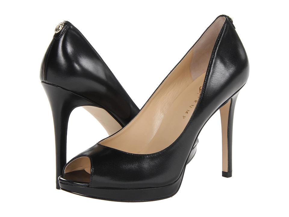 Ivanka Trump - Maggie (Black Leather) High Heels