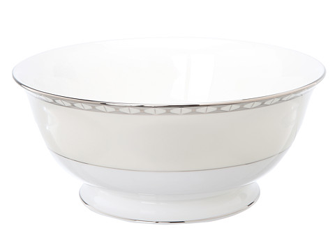 Kate Spade New York - Signature Spade Serving Bowl (White) Dinnerware Cookware