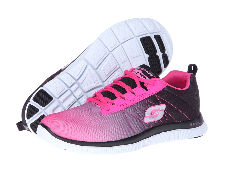 SKECHERS - Flex Appeal - New Rival (H.Pink) Women's Lace up casual Shoes
