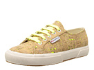 Superga 2750 Neon Cork (Neon Yellow)