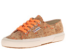 Superga 2750 Neon Cork (Neon Orange)