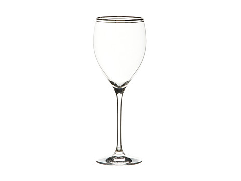 Kate Spade New York - Library Lane Platinum Wine (Clear) Glassware Cookware