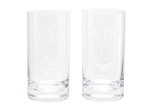 Kate Spade New York - Two Of A Kind Bar Belles Highball (Clear) Glassware Cookware