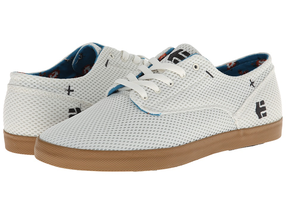 etnies - Dapper (White/Gum) Men