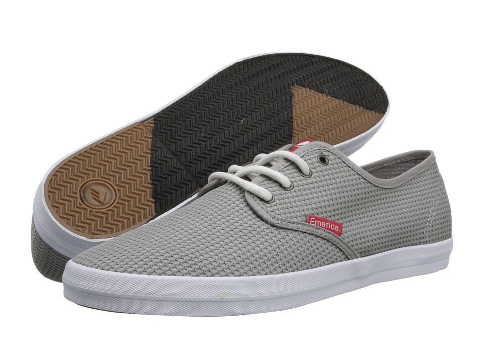 Emerica - The Wino (Grey) Men's Skate Shoes