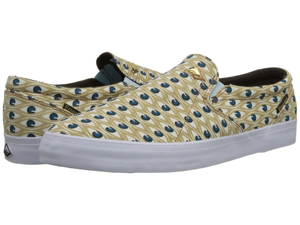 Emerica - The Memphis x Ed Templeton (Tan/Blue) Men's Skate Shoes