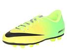 Nike Kids Jr Mercurial Vortex FG-R (Toddler/Little Kid/Big Kid) (Vibrant/Yellow/Neo Lime/Metallic Silver/Black)