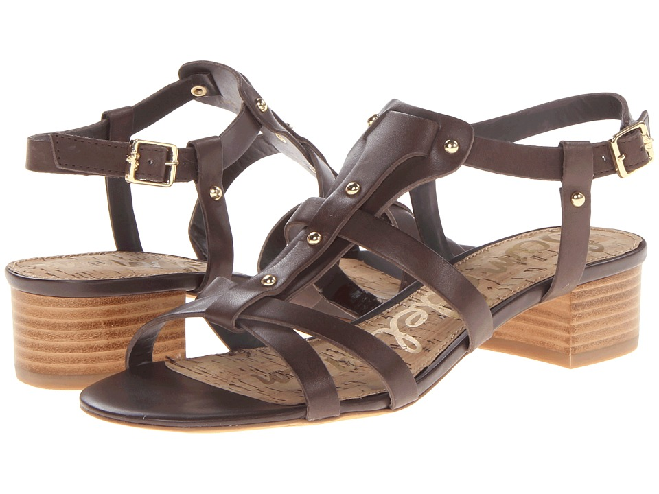 Sam Edelman - Angela (Dark Chocolate) Women's Shoes