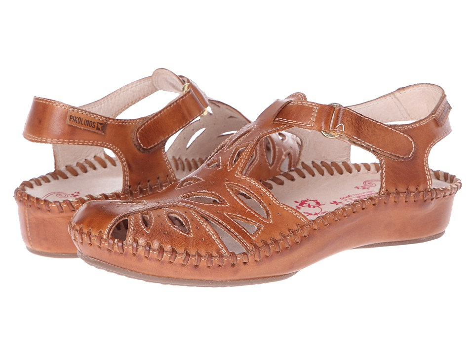Pikolinos - Puerto Vallarta II 655-8312L (Brandy) Women's Hook and Loop Shoes