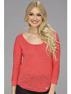 SALE! $14.99 - Save $18 on Roxy Once In Awhile Top (Hot Rose) Apparel - 53.88% OFF $32.50