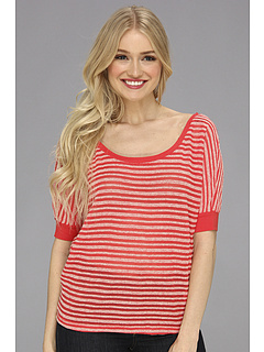 SALE! $17.99 - Save $21 on Roxy Doheny 2 Top (Hot Rose Stripe) Apparel - 53.27% OFF $38.50
