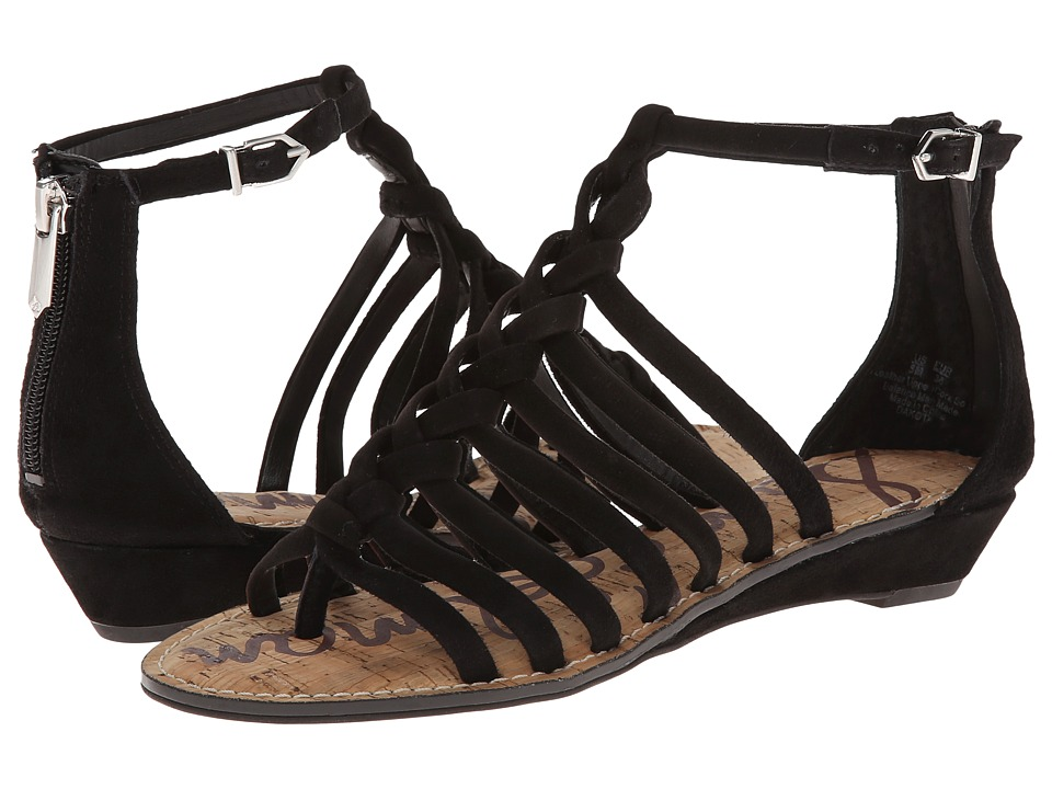 Sam Edelman - Dakota (Black Suede) Women's Sandals