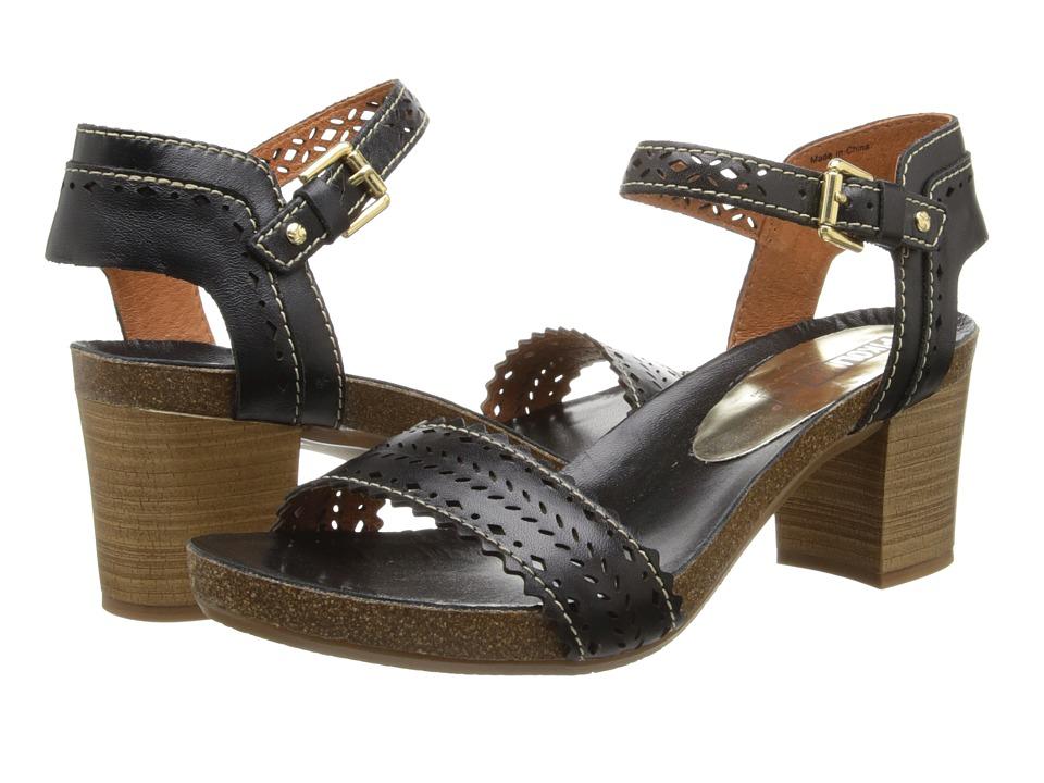 Pikolinos - Praga 871-9747 (Black) High Heels