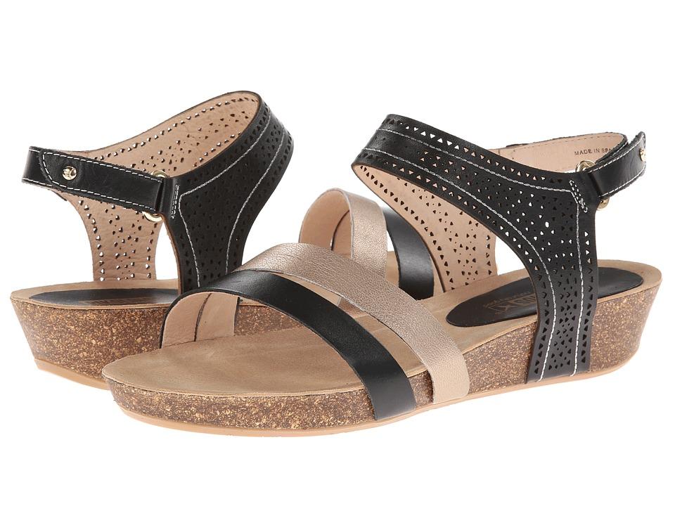 Pikolinos - Rennes 931-7474A (Black) Women's Sandals