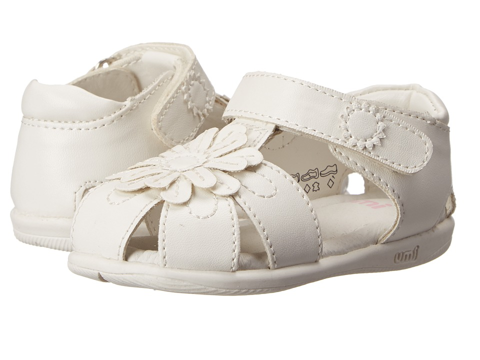 Umi Kids - Adeline (Toddler) (White) Girl's Shoes