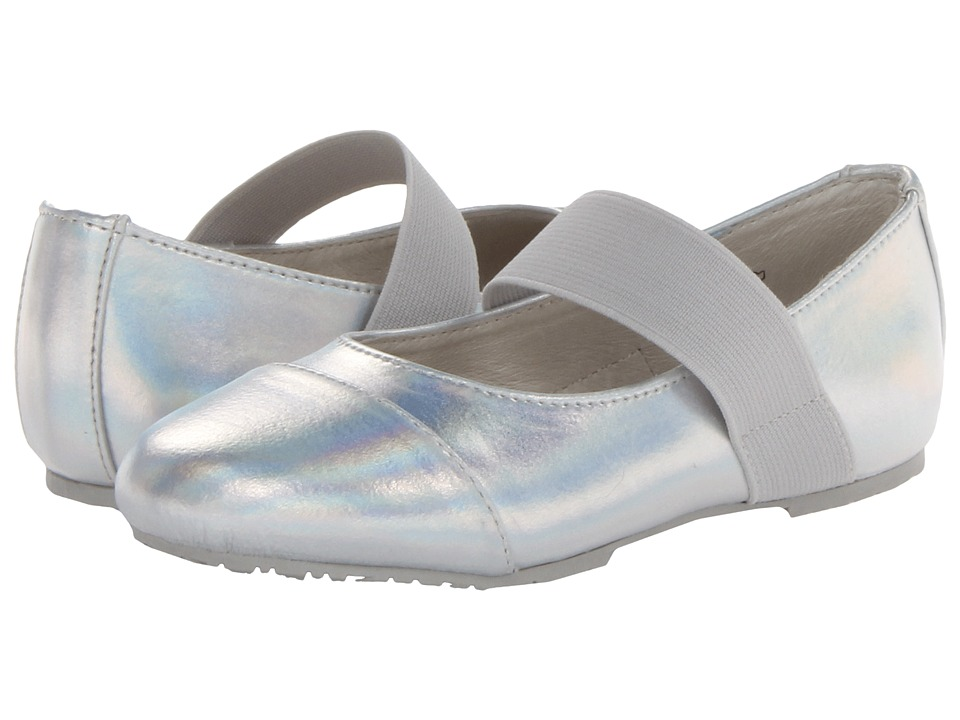 Umi Kids - Elaina (Toddler/Little Kid) (Silver) Girls Shoes