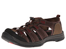 Dockers - Pershing (Brown Synthetic Suede/Brown Nylon Webbing/Red Mesh) - Footwear