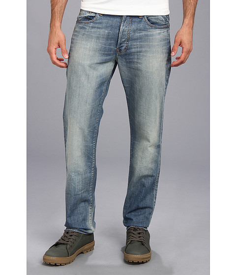 G-Star - 3301 Straight Jean in Memphis Light Aged T.P. (Light Aged T.P.) Men