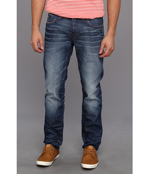 G-Star - 3301 Low Tapered in Lexicon Medium Aged (Medium Aged) Men's Jeans