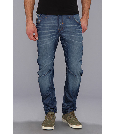 G-Star - Arc 3D Slim in Lexicon Medium Aged (Medium Aged) Men