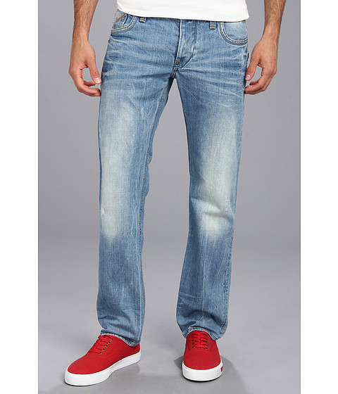 G-Star - Attacc Low Straight in Retton Light Aged (Light Aged) Men's Jeans