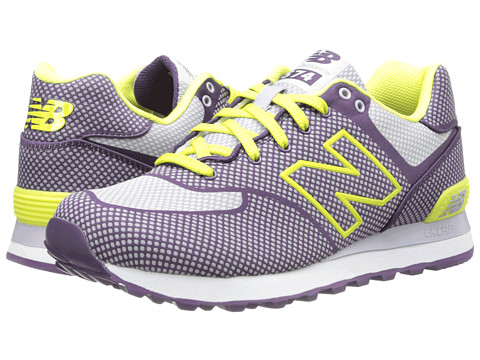 New Balance Classics - WL574 - Woven Pack (Indigo/Limade) Women's Classic Shoes