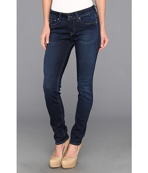 G-Star - 3301 Contour Skinny in Ultimate Stretch Pin Medium Aged (Medium Aged) Women's Jeans