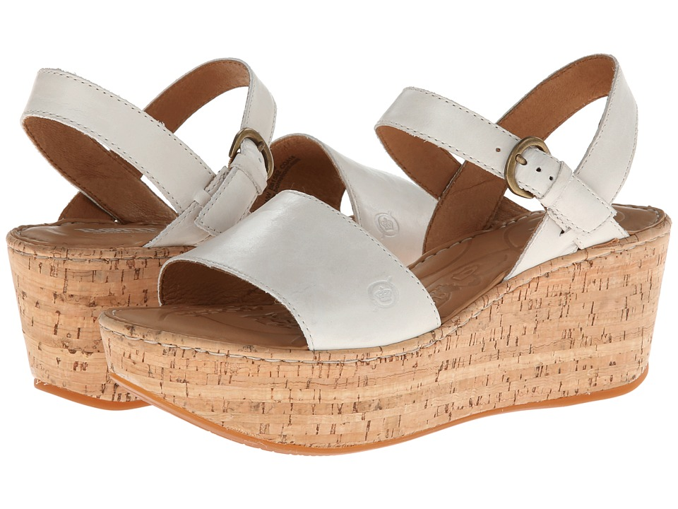 Born - Maldives (Off White) Women's Wedge Shoes