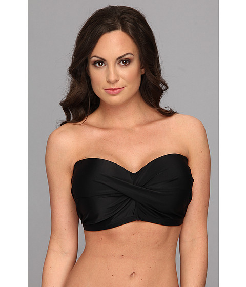 Body Glove - Smoothies Dolly Underwire Top D-DD-E (Black) Women's Swimwear