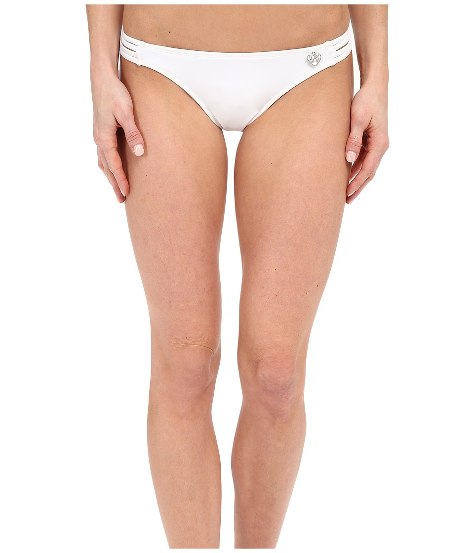 Body Glove - Smoothies Flirty Surf Rider Bottom (White) Women's Swimwear