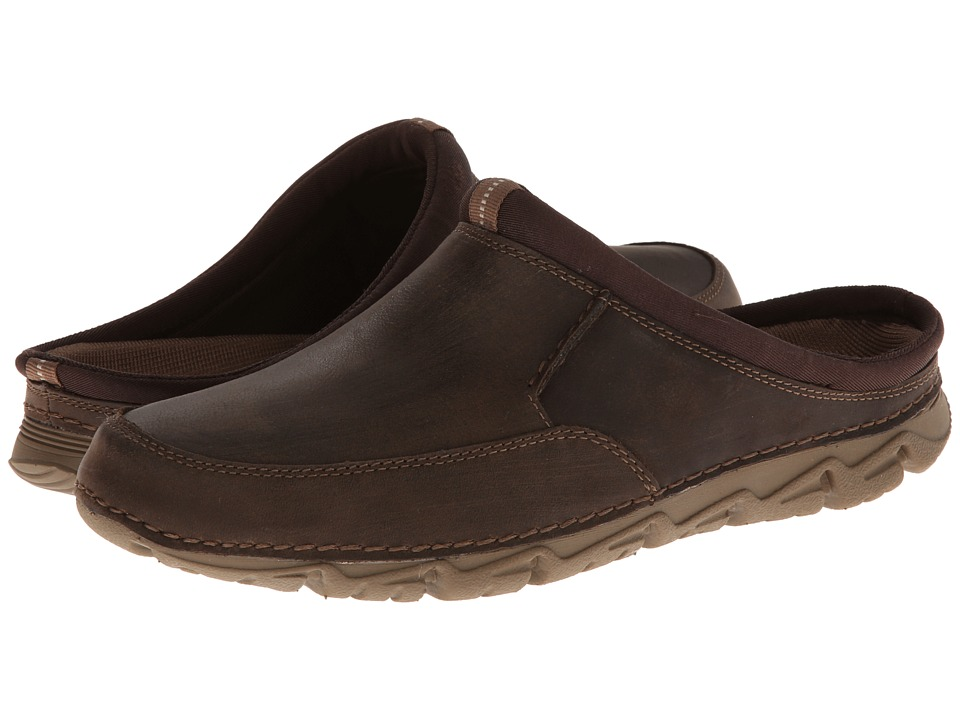 Rockport - Rocsports LT2 Mule (Chocolate) Men's Slip on Shoes