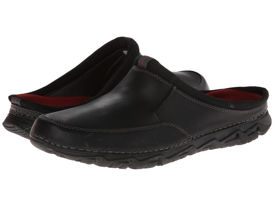 ff4461fe2200c UPC 887778735118 - Rockport - Rocsports LT2 Mule (Black) Men's Slip ...