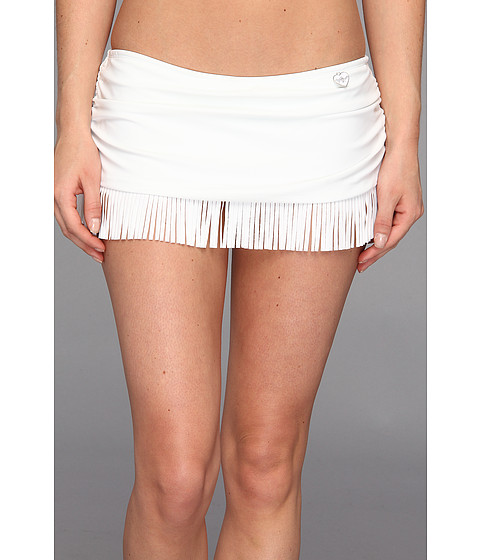 Body Glove - Smoothies Hula Surfrider Skirted Bottom (White) Women's Swimwear