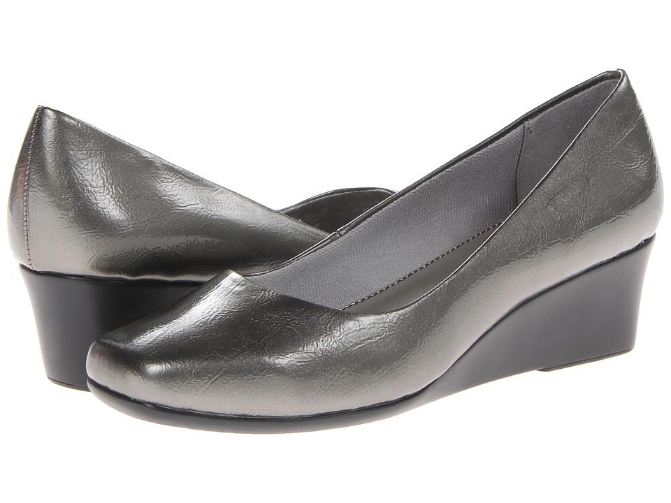 LifeStride - Garam (Grey Farah) Women's Wedge Shoes