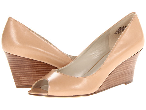 Nine West - Phishy (Light Natural Leather) Women's Wedge Shoes