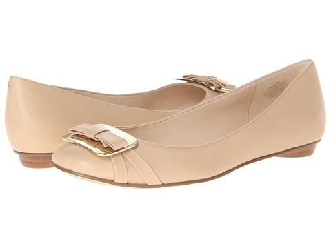 Shop Nine West online and buy Nine West Rueben Light Natural Leather 1 Womens Flat Shoes online