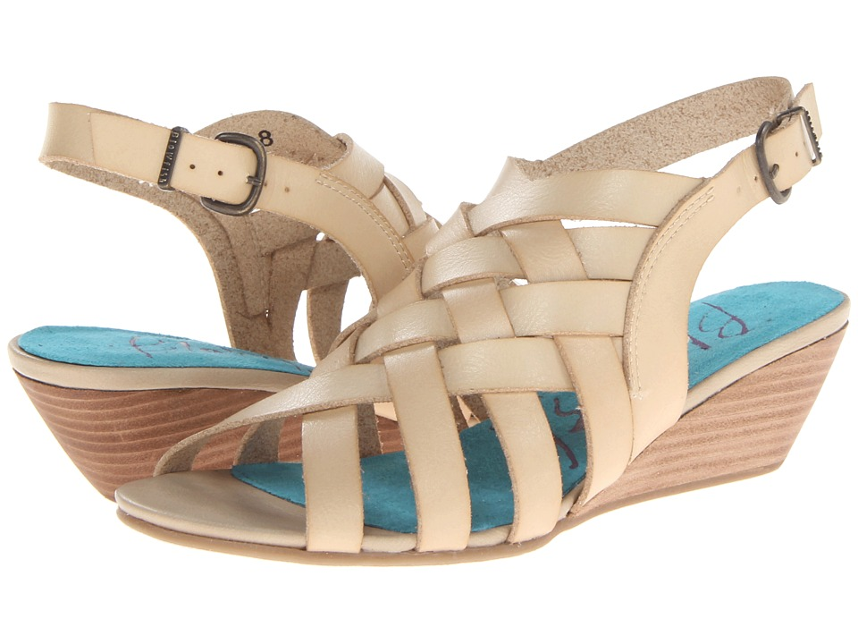 Blowfish - Colette (Natural Dyecut) Women's Wedge Shoes