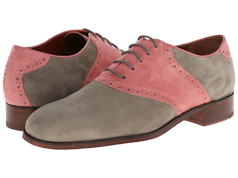 Florsheim by Duckie Brown - Saddle (Moss/Rose) Men's Shoes