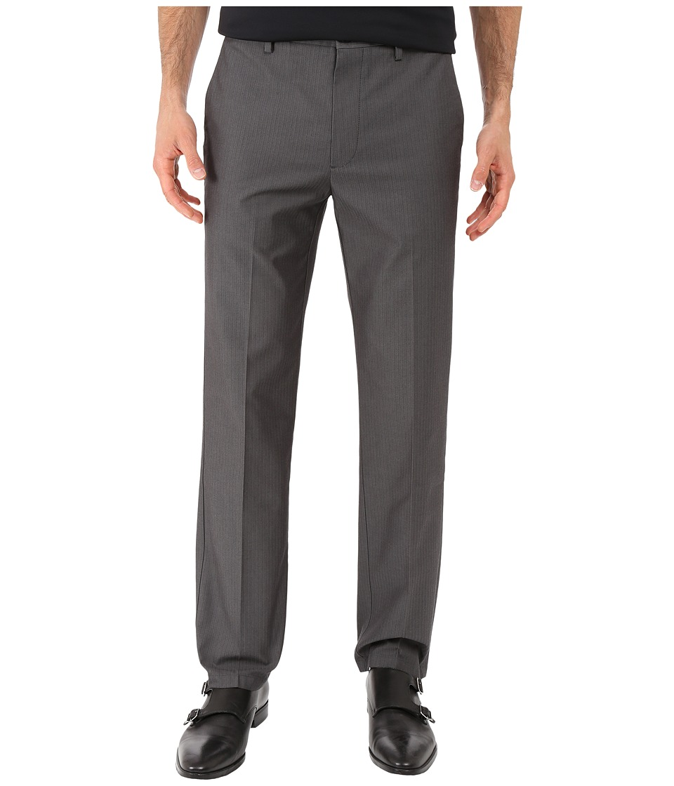 Dockers Men's - Signature Khaki D1 Slim Fit Flat Front (Smith Steelhead Stretch) Men's Dress Pants