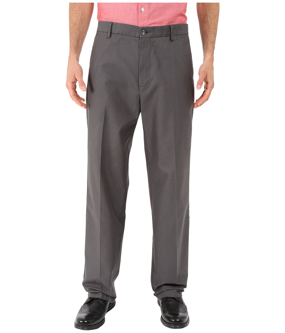 Dockers Men's - Signature Khaki D3 Classic Fit Flat Front (Smith Steelhead) Men's Casual Pants
