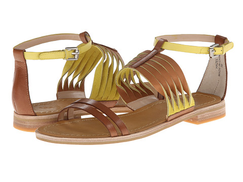French Connection - Hazel (Tan/Lemon) Women's Sandals
