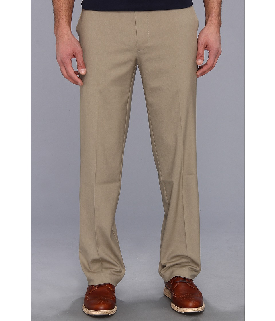Dockers Men's - New ProStyle Khaki D2 Fit Flat Front (British Khaki) Men's Casual Pants