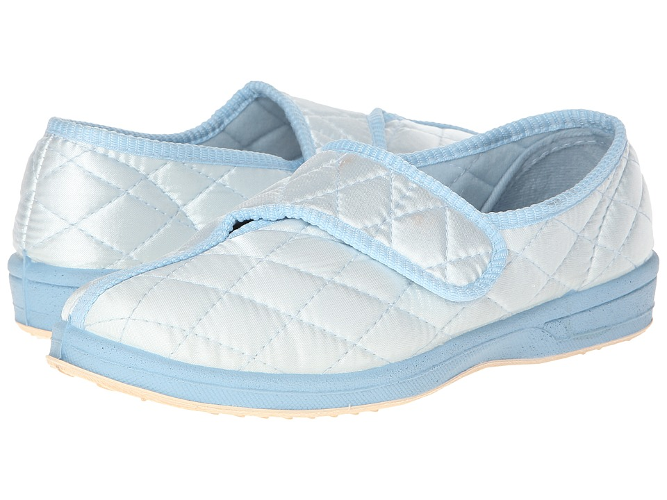 Foamtreads - Jewell (Light Blue Satin) Women's Slippers